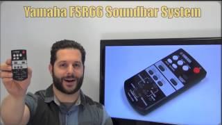 YAMAHA FSR66 Sound Bar System Remote Control PN: ZJ787500 - www.ReplacementRemotes.com