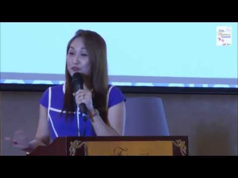 Kim Bernardo Lokin, Managing Editor Business+Class Magazine, speaks at Asia Womens Summit
