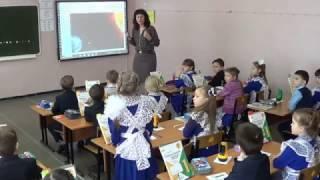 Урок по окружающему миру в 1 классе.