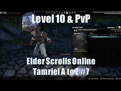 Elder Scrolls Online - How to start PvPing in Cyrodiil - Tamriel A to Z #7