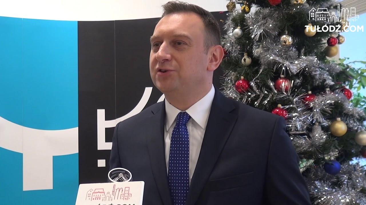 Wiceprezydent Tomasz Trela składa łodzianom świąteczne życzenia