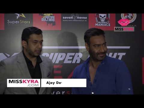 Ajay Devgn and Arbaaz Khan at an event