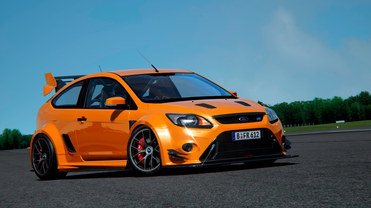 Ford Focus RS superpack by Beto FR - YouTube