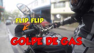 Como hacer un GOLPE DE GAS - Flip Flip (Sonidos 0rg4smicos)