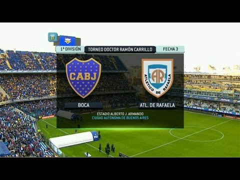 Ftbol en vivo boca  rafaela fecha 3 primera divisin 2014 fpt