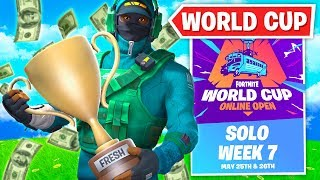 FRESH CLUTCHES SOLO WORLD CUP!