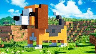 Дом - Собака в Майнкрафт - Как построить? Скачать карту Minecraft