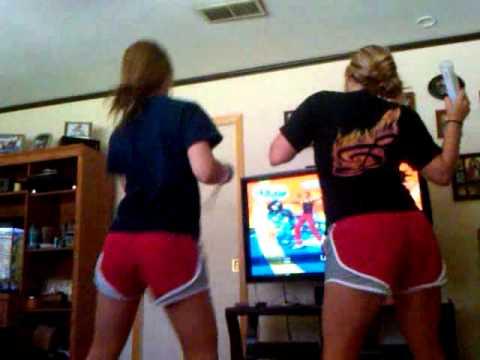 Jennifer & Lindsey dancing!