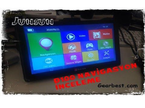 Junsun D100 Car GPS Navigator Gearbest.com