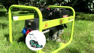 видео Бензиновый генератор Pramac S6000