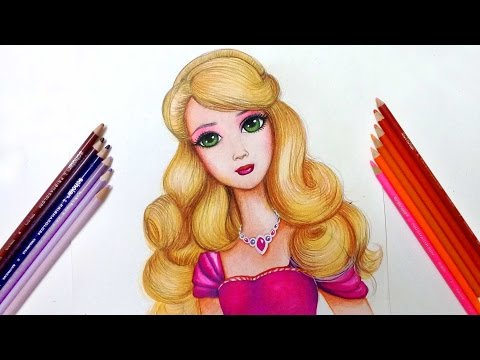 ❤how to draw barbie ❤ drawing tutorial
