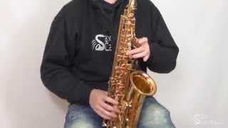 how to play the sax solo from old time rock and roll bob seger as played by alto reed