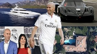Zinedine Zidane Biography, Family, Kids, Net Worth, Houses, Cars 2017