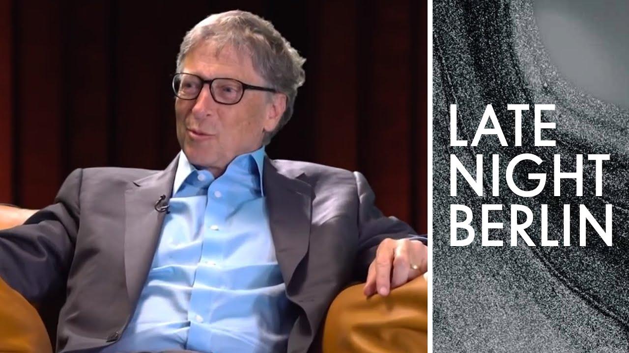 Bill Gates im Interview: Die tolle Partnerschaft zu Deutschland | Late  Night Berlin