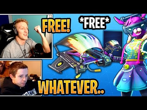 "Streamers Get & React to the *FREE* New ""EQUALIZER"" Glider! - Fortnite Best and Funny Moments thumbnail"