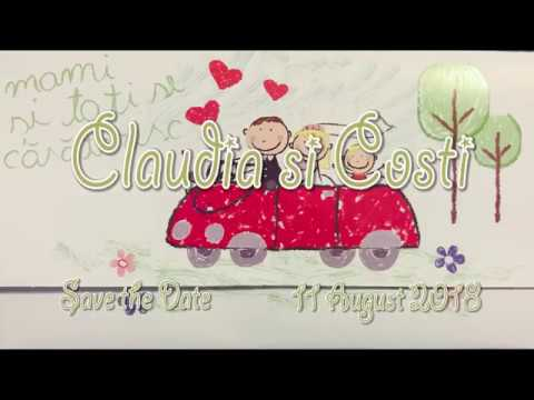 Claudia si Costi Save The Date 11 August 2018