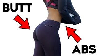 Powerful Abs and Butt Workout For Women | 4 Lower Body Abs and Buttocks For Curvy Figure!