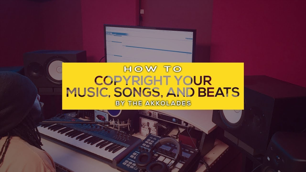 How To Copyright Music   Copyright Songs   Copyright Your Beats