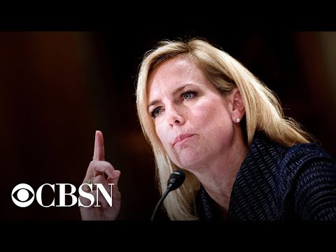 Kirstjen Nielsen testifies in border security hearing, live stream