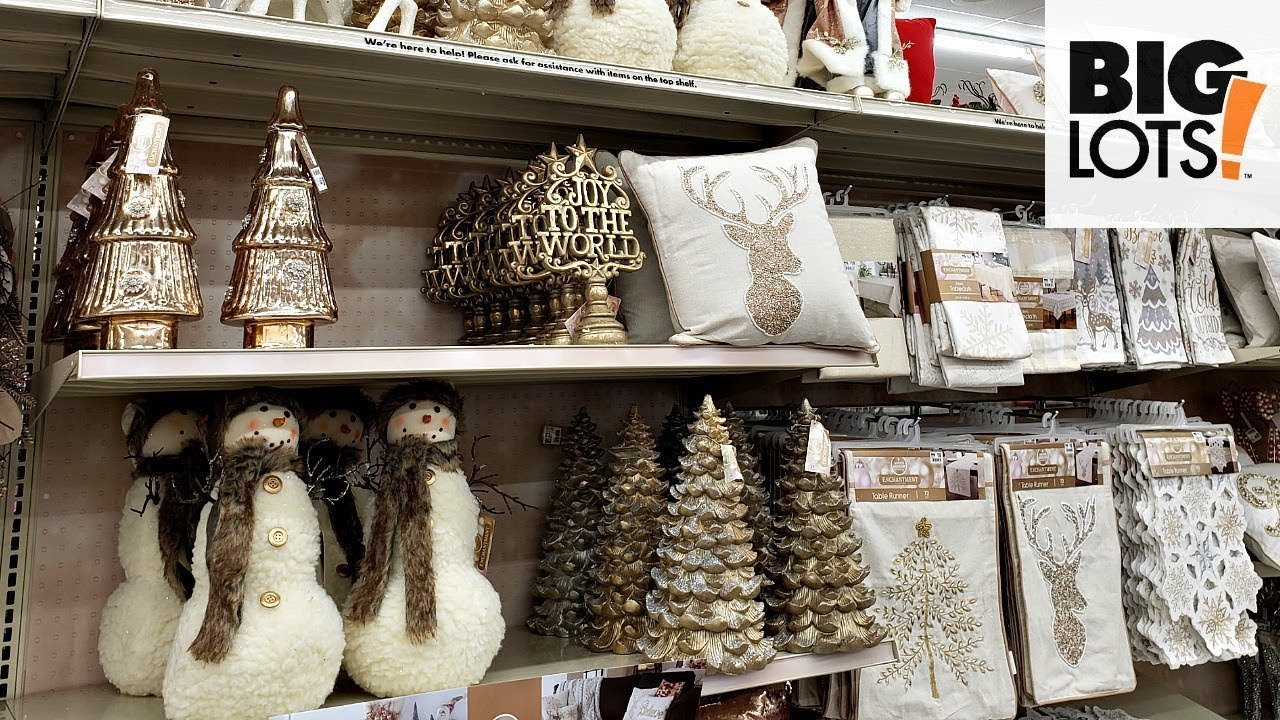 biglots shopwithme christmasdecor - Big Lots Christmas Lawn Decorations