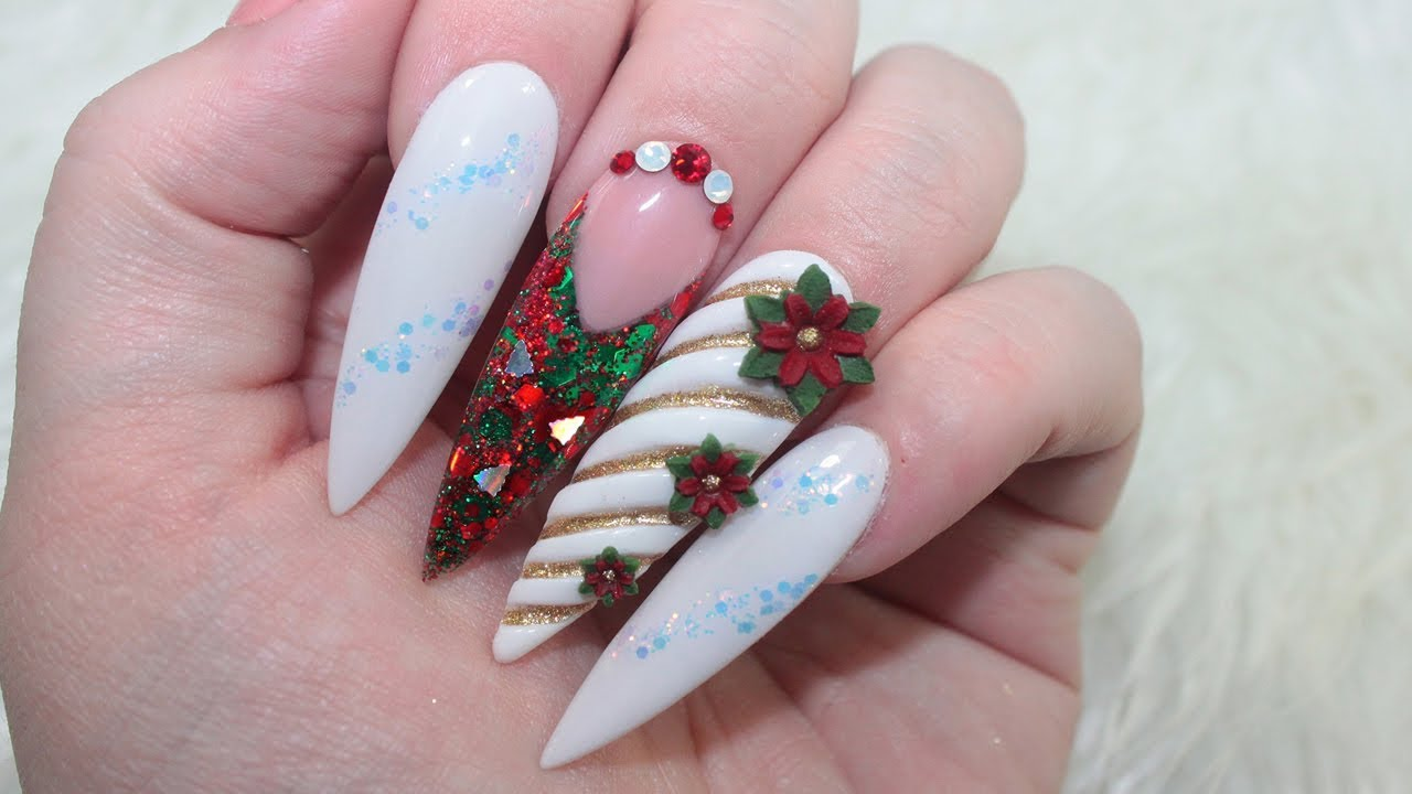 Fake Nail Designs For Christmas | www.topsimages.com