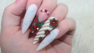 Hey everyone! This is my first Christmas nail design! If you know m...