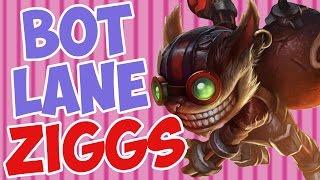 Bot Lane Ziggs