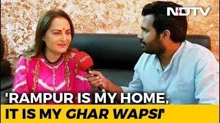"""""""Got BJP's Hindu Vote In Rampur In The Past"""": Jaya Prada"""