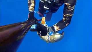 North Cyprus Deep Spearfishing End of Summer 2014 - GoPro