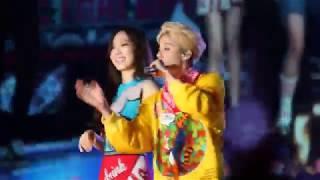 2015 SM Town-f(x) 에프엑스 劉逸雲Amber Josephine Liu 유일운+김태연