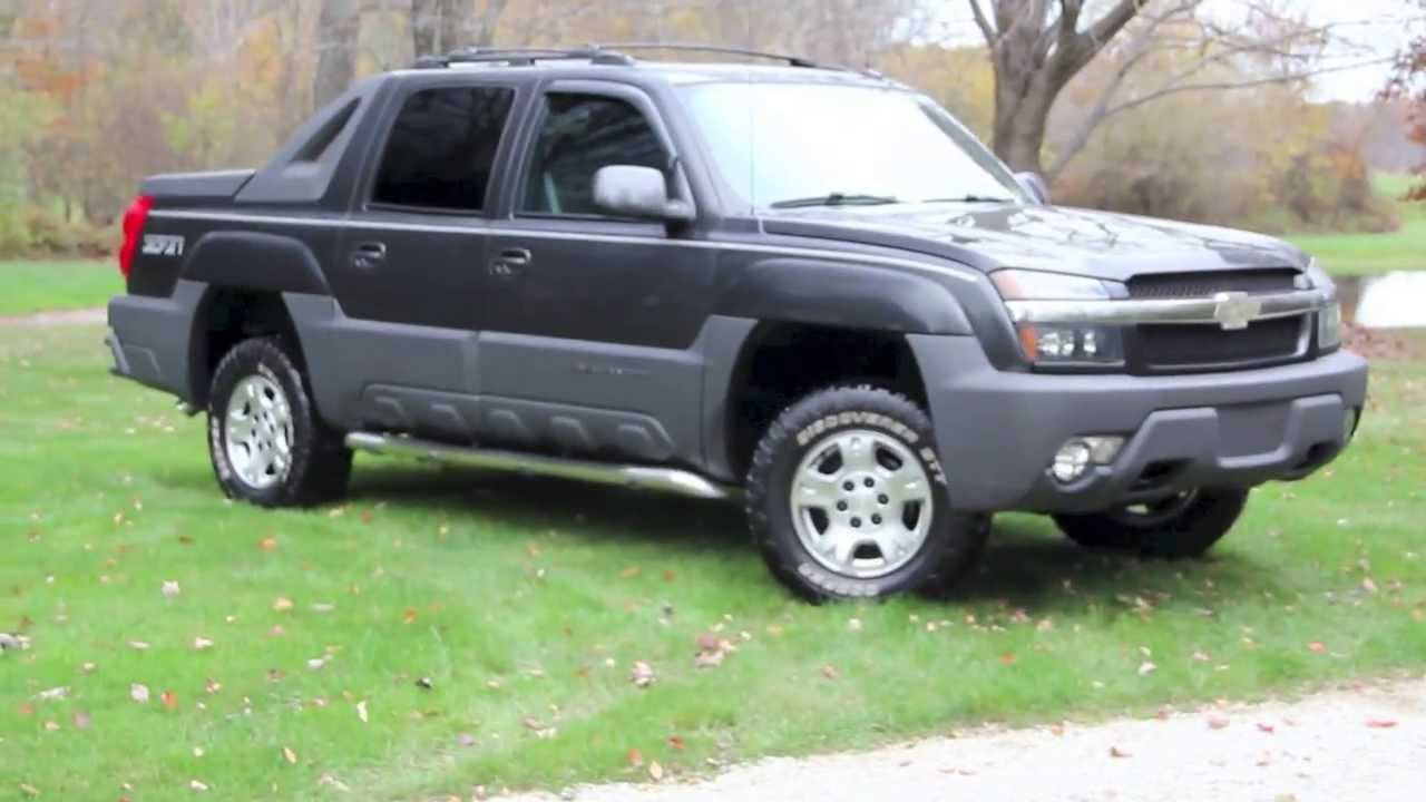 2004 chevrolet avalanche z71 golden rule auto sales youtube. Black Bedroom Furniture Sets. Home Design Ideas
