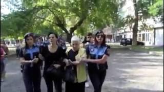«Քրեյզիի»  Մագայի  կողմից ցուցարար կանանց բերման ենթարկելու տեսանյութը