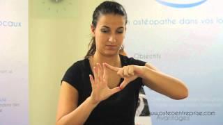 Etirement muscles doigts de la main - Ostéo Entreprise - Ostéopathie en entreprise
