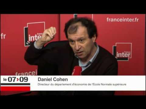 Le revenu universel par Daniel Cohen