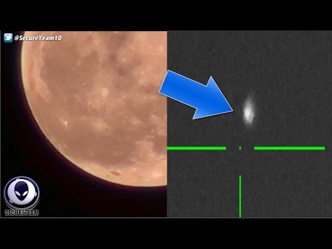 Alien Fleet Caught Leaving Moon? Cloaked Space UFO Busted! 11/22/16