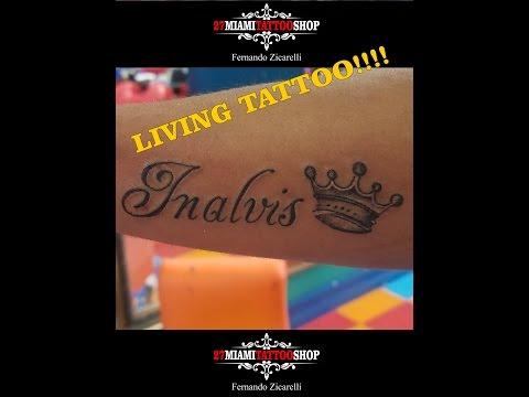Live Tattoo Name !!!!!!!