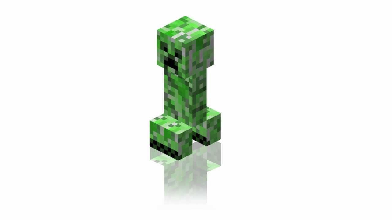 minecraft creeper 3d model download