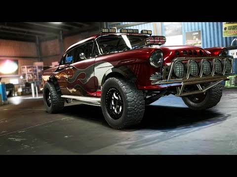 Need For Speed Payback Chevy Bel Air Offroad Superbuild