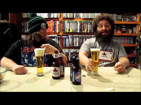 Labatt Blue and Molson Canadian Review