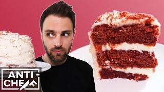 I made RED VELVET CAKE for her birthday