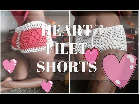 Cro-Turial #15 | HEART FILET HOT PANTS | VALENTINE'S DAY