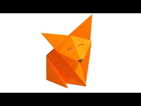 Лисица оригами juravliki.ru