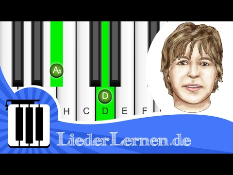 Fool's Garden - Lemon Tree - Klavier lernen - Musiknoten - Akkorde