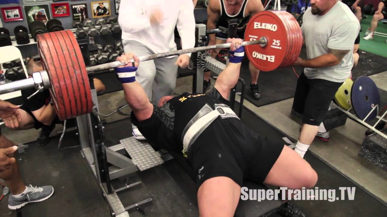 Exceptional Record Bench Part - 5: Eric Spoto Raw Bench Press World Record - All 3 Lifts | SuperTraining.TV -  YouTube