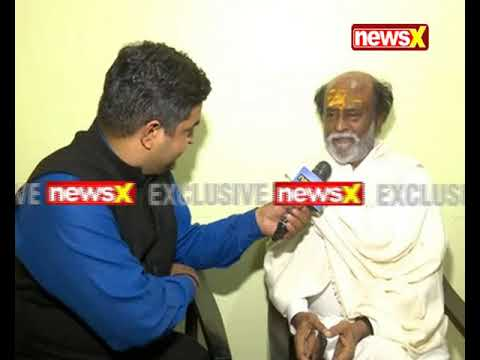Rajinikanth speaks to NewsX over spiritual tour in Himalayas