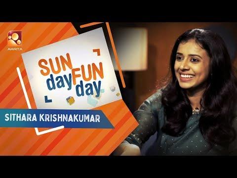 SITHARA KRISHNAKUMAR Sunday Funday  Amrita TV