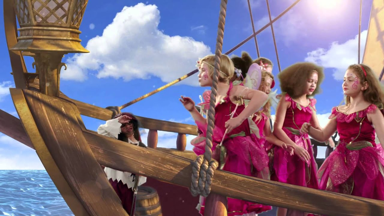 Tinker Bell And The Pirate Fairy Music Video