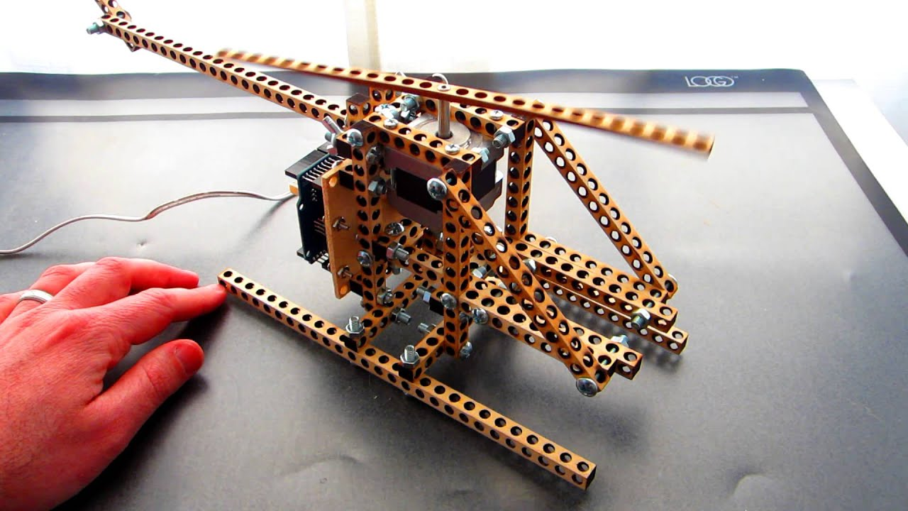 Bitbeam arduino toy helicopter youtube