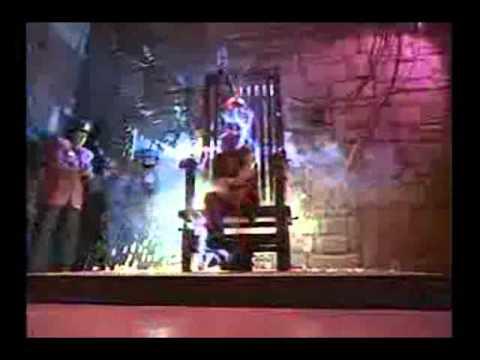 Ernest gets electrocuted
