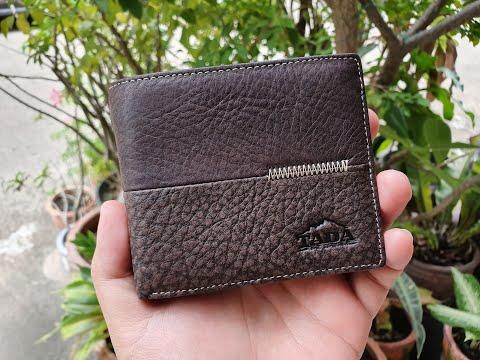 รีวิวกระเป๋าตังค์หนังแท้จาก Tada Real Leather